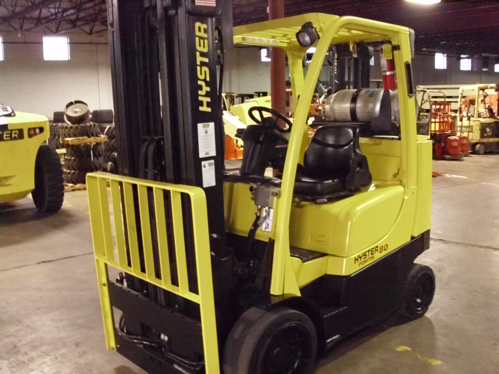 Similar Used Equipment - 2007 Hyster S80FTBCS