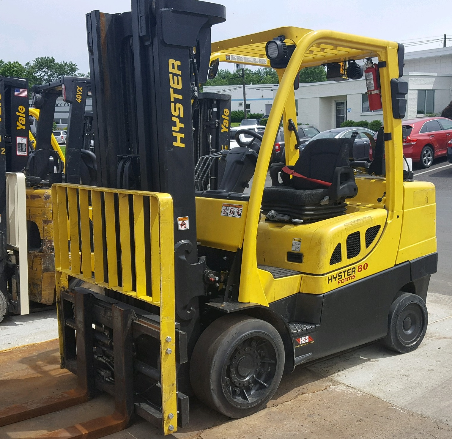 Similar Used Equipment - 2014 Hyster S80FT